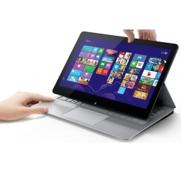 Pc Portable Sony Vaio Fit multi-flip SVF14 Core i7 4eme Gen 4500U 1,8Ghz  Turbo 2,8Ghz 8G 256G SSD - Ecran Tactile 14 FULL HD - Clavier Retro - Recovery Windows 8 Pro - Etat comme neuf