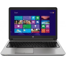 Pc Portable HP Probook 650 G1 Core i5 4300M Vpro 2.6Ghz Turbo 3.3Ghz 4G DDR3 500G HDD 7200tm + 32G SSD Ecran 15.6 FULL HD AMD Radeon HD 8750M Licence Windows 7 & 10 Pro 64BIT Etat comme neuf
