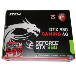 Carte Graphique MSI GTX 980 GAMING 4G G-DDR5 Neuf sous emballage