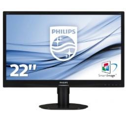 """Philips Brilliance Moniteur LCD, rétroéclairage LED 220S4LCS S-line 22"""" / 55,9 cm 1 680 x 1 050 avec SmartImage Neuf sous emballage"""