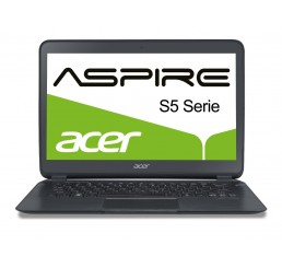 Pc Portable Acer Aspire S5 - Ultrabook 13,3''- Core i7-3517U 1,9 Ghz Turbo 3Ghz SSD 256 Go - RAM 4096 Mo - Ecran HD - Port Thunderbolt - Recovery Windows 8 - Etat comme neuf