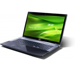 Pc Portable Acer Aspire V3 Core i7 Quad 3éme Géneration 3632QM 2.2 Ghz Turbo 3.2Ghz  - 8G - 750 Go HDD - Ecran 17.3 LED FULL HD - NVIDIA® GeForce™ GT 710M 1Go - Recovery Windows 8 64Bit Etat comme neuf