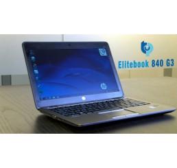 Pc Portable Ultrabook HP EliteBook 840 G3 2016 Vpro Core i5-6300U 2.4Ghz Turbo 3Ghz 8GB 256G SSD + 500G HDD Ecran 14 LED HD Clavier rétro - Lecteur d'empreinte digitale Windows 10 Pro Etat comme neuf Garantie constructeur 07-09-2020