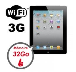 Tablette APPLE iPad 2 WiFi + 3G 32Gb Noir Etat Comme Neuf