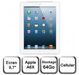 iPad 4 Retina 64G 4G + Wifi Etat Comme Neuf (sans accessoire)