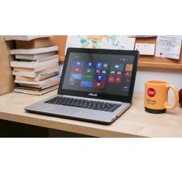 Pc Portable Asus Ultrabook VivoBook S series S451LA Core i5-4210U 1.7Ghz Turbo 2.7Ghz  - 6G - 500G HDD - Ecran 14 Tactile LED HD - Windows 8 64 Bit - Etat comme neuf