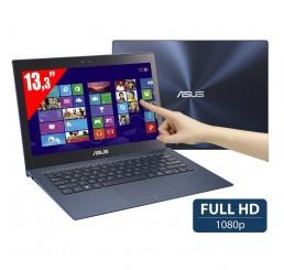 Pc Portable Ultrabook Tactile ASUS ZENBOOK UX302LA 4éme Génération Core i5-4200U 1,6Ghz Turbo 2,6Ghz - 4G - 500G HDD + 24G SSD  - Ecrant 13.3 FULL HD - Clavier retro - Windows 8 Etat comme neuf + Housse Originale ASUS