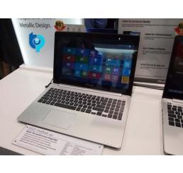 Pc Portable ASUS VIVOBOOK S551LA Core i5-4200U 1.6Ghz Turbo 2.6Ghz - 6G DDR3L - 1T HDD - Ecran Tactile 15.6 LED HD  - DVD-RW Licence Windows 8.1 64 Bit Etat comme neuf