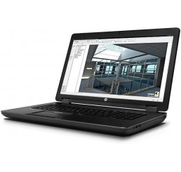 Pc Portable ZBook 17 Workstation Core i5 Vpro 4330M 2.8Ghz Turbo 3.5Ghz 4G DDR3L 500G HDD  Ecran 17.3 FULLHD NVIDIA Quadro K610M Clavier Azerty rétro Empreinte digitale Licence Windows 10 Pro Etat comme neuf