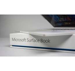 "Tablette MICROSOFT SURFACE BOOK Core i7-6300U 6éme génération Vpro 2.6Ghz Turbo 3.4Ghz 16G DDR4 512G SSD Ecran IPS Tactile Multitouch 13.5"" 3000 x 2000 pixels NVIDIA GeForce 940M Windows 10 Pro Avec Clavier Azerty rétro Neuf sous emballage"