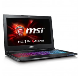 "Pc Portable GAMER 2016 MSI GS60 6QE Core i7-6700HQ QUAD 2.6GHz Turbo 3.5Ghz 8G DDR4 1000G HDD 7200 Rpm + 128G SSD NVIDIA® GeForce™ GTX 970M 3G GDDR5 Ecran 15,6"" IPS FULL HD FREE DOS Clavier Azerty Rétro Neuf sous emballage"