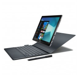 """Tablette Tactile 2 en 1 Samsung Galaxy Book Core i5-7200U Core 2.5GHz Turbo 3.1Ghz 8G LPDDR3  256G SSD Ecran 12"""" SUPER AMOLED FULLHD+ Clavier Azerty rétro Licence Windows 10 Famille Neuf sous emballage"""