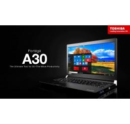 Pc Portable Ultrabook 1,58Kg Toshiba PORTÉGÉ A30T Core i7-6600U Vpro 2.60GHz Turbo 3.4Ghz 16G 256SSD 13.3 Tactile FULLHD Clavier rétro Empreinte digitale Cellulaire LTE Licence Windows 10 Pro 64Bit Neuf sans emballage