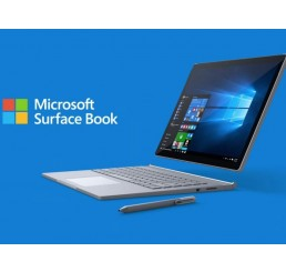 "Tablette MICROSOFT SURFACE BOOK Core i7-6600U 2.6Ghz Turbo 3.4Ghz 16G RAM 512G SSD Ecran 13.5"" PixelSense 3000 x 2000 Tactile NVIDIA GeForce Licence Windows 10 Pro 64 Bit En Bon Etat avec Stylet Surface"
