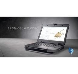 Pc Portable Dell Latitude 14 Rugged 5414 2018 Core i5-6300U Vpro 2.4Ghz Turbo 3Ghz 16G DDR4 512G SSD Ecran Tactile 14 FULLHD AMD Radeon R7 360M Clavier Azerty Rétro L'empreinte digitale 4G LTE & GPS Batterie 9CEL Licence Win10 Pro Neuf sous emballage