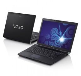 """Sony Vaio 15.4"""" Core2Duo Vpro P8600 2.4 GHz 3G 320G + lecteur d'empreintes Etat comme neuf"""