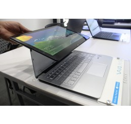 Pc Portable Sony Vaio Fit multi-flip SVF13 Core i7 4eme Gen 4500U 1.8Ghz  Turbo 3Ghz 8G 512G SSD - Ecran Tactile 13.3 FULL HD - Clavier Retro - Recovery Windows 8 Pro - Etat comme neuf