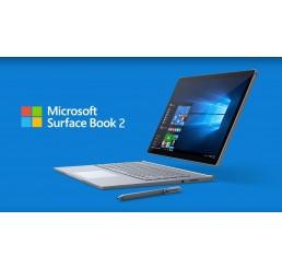 """Tablette MICROSOFT SURFACE BOOK 2 Core i5-7300U Vpro 2.6Ghz Turbo 3.5Ghz 8G RAM 128SSD 13.5"""" PixelSense 3000 x 2000 Tactile Licence Windows 10 Pro Avec Clavier Azerty rétro Neuf Sous Emballage Garantie constructeur jusqu'au 24-12-2020"""
