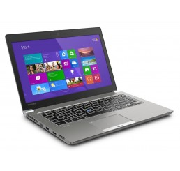 Pc Portable Ultrabook Toshiba TECRA Z50 Core i5-4210U 1.7GHz Turbo 2.7Ghz - 4G - 500G SSHD Ecran 15.6 LED HD Clavier rétro -Empreinte digitale - Windows 7 Pro préinstallé + DVD Windows 8.1 Pro Neuf sous emballage