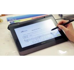 Wacom DTU-1141 Tablette Signature graphique Ecran 10,6 FULLHD Multicolore Gagnant du prix reddot design 2016 Compatible Windows et Mac Etat comme neuf