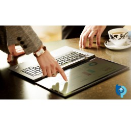 """Pc Portable Ultrabook Lenovo Thinkpad X1 Carbon Tactile Core i7-4600U Vpro 2.1Ghz Turbo 3.3Ghz  8G 256G SSD Ecran 14"""" WQHD Clavier rétro L'empreinte digital Modem cellulaire WWAN Windows 8 Pro Etat comme neuf Garantie constructeur 15-06-2018"""