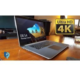 Pc Portable Ultrabook Dell XPS 15 9530 Core i7-4712HQ Quad 2.30Ghz Turbo 3.3Ghz 16G DDR3 256G SSD Ecran Tactile 15.6 UHD 4K NVIDIA GeForce GT 750M 2G - Clavier rétro - Windows 8 Pro - Etat comme neuf