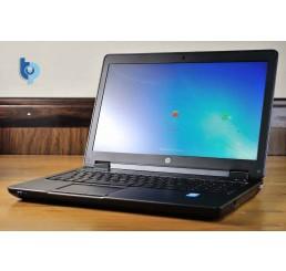 Pc Portable ZBook 15 Mobile Workstation Core i7 Quad 4700MQ 2.4Ghz Turbo 3.4Ghz 16G 256G SSD Ecran 15,6 FULL HD NVIDIA Quadro K610M Clavier rétro Lecteur d'empreinte digitale Licence Windows 10 Pro Etat comme neuf