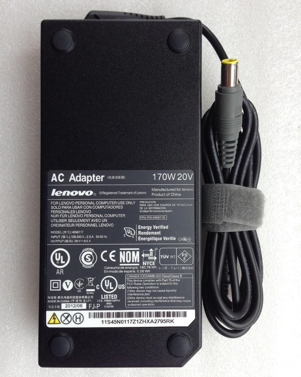 Adaptateur ThinkPad 170W AC pour W520
